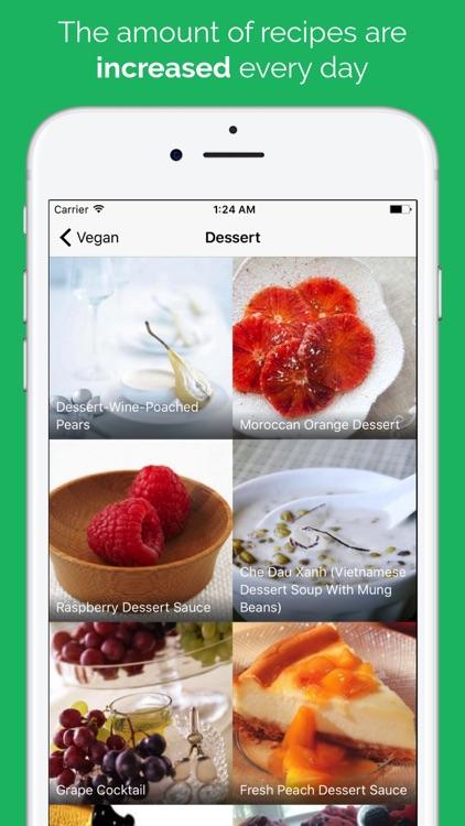 Vegan Food Recipes screenshot-3