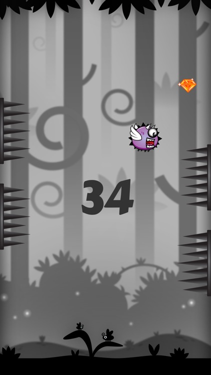 Flappy Bonuce - Don't Touch the Spikes screenshot-3