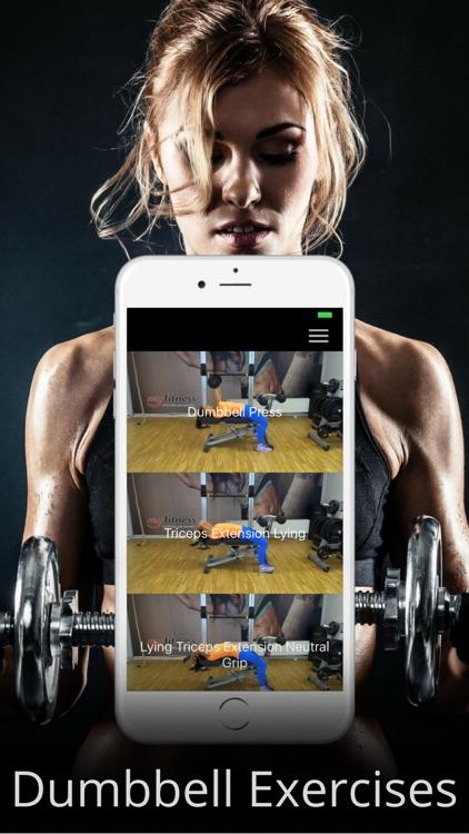 Dumbbell Workout Routine & Exercises Training