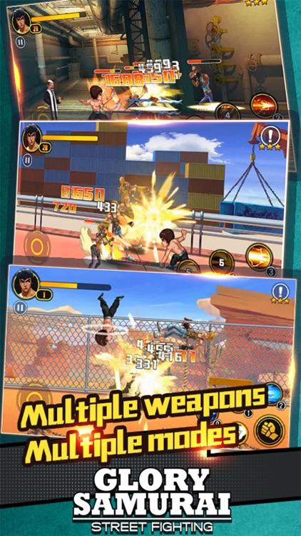 Glory Samurai - Street Fighting
