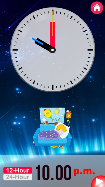 Clock Learning for Kids screenshot-4