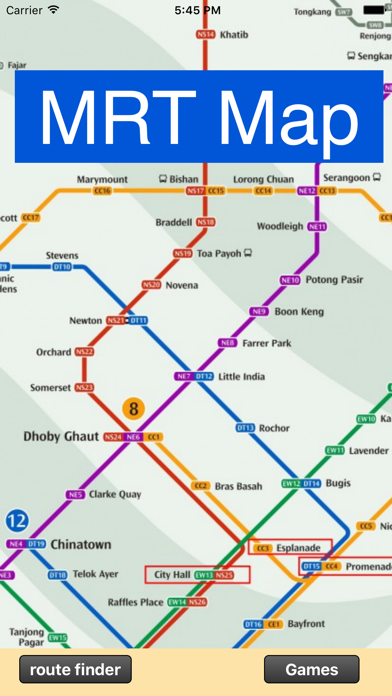 Singapore MRT Route finder   App Price Drops