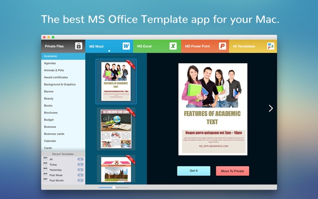 BookCase - Templates for MS Office