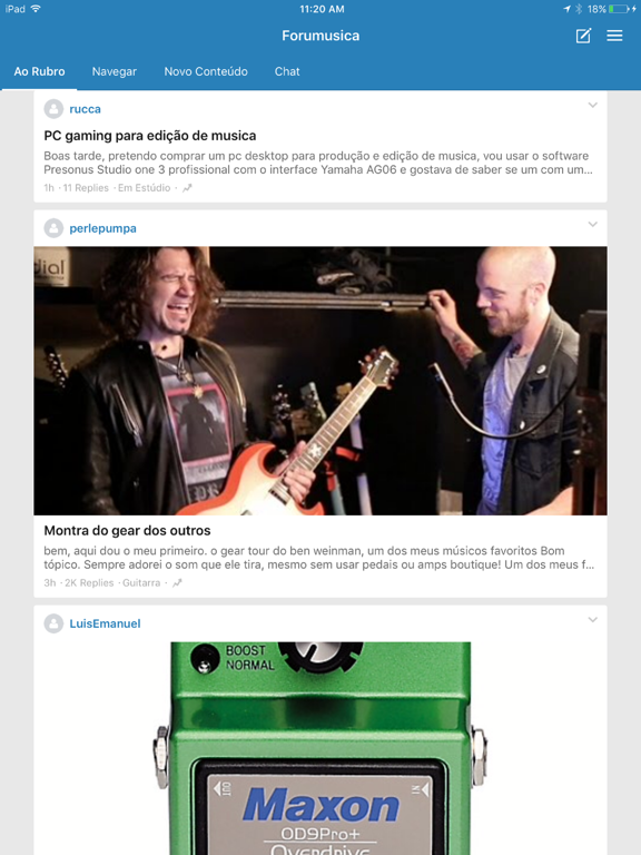 Forumusica screenshot 4