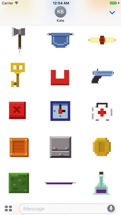 Animated Pixel Game Stickers screenshot-3