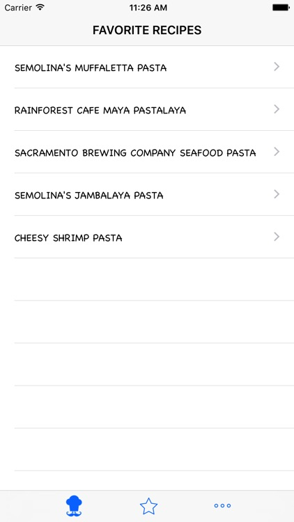 Delicious Pasta Recipe screenshot-2