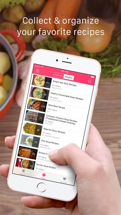 Soup Recipes: Healthy cooking recipes & videos screenshot-3