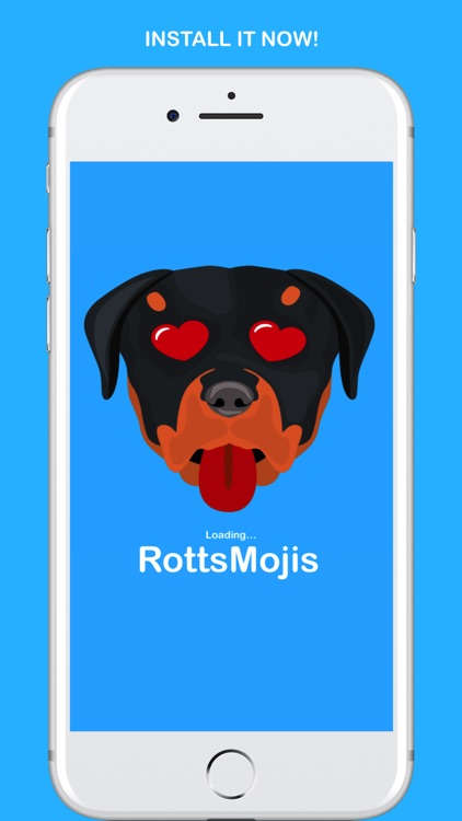 RottsMojis - Rottweiler Emojis & Stickers screenshot-4