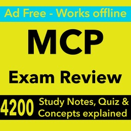 MCP Exam Review App- 4200 flashcards & Study Notes