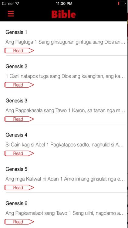 Hiligaynon Bible screenshot-3