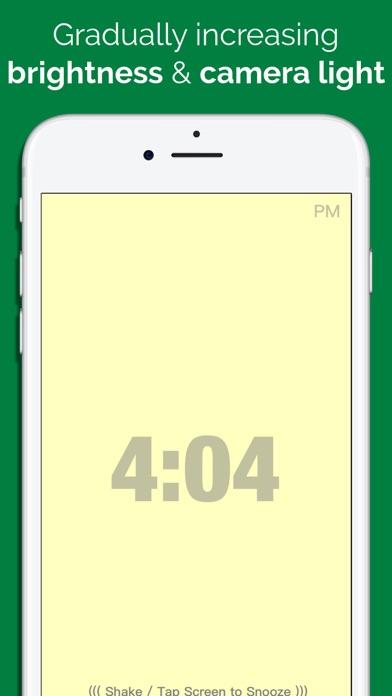 Light Alarm Free screenshot one