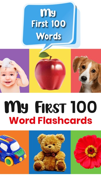 点击获取My First 100 Word Flashcards