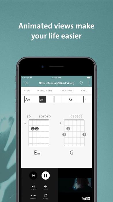 Chordify - Chords for Any Song Screenshot