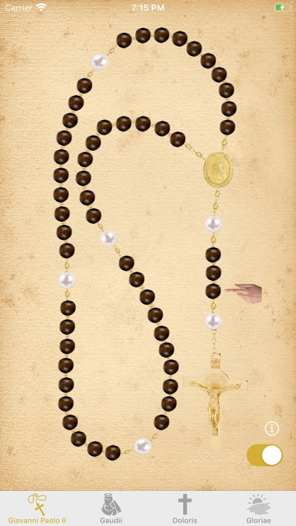 Interactive Rosary in Latin