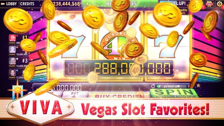 Viva Slots Vegas Slot Machines screenshot-0
