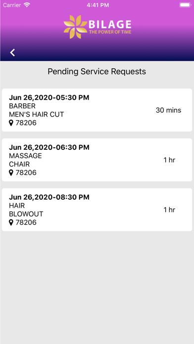 Bilage Provider screenshot 5