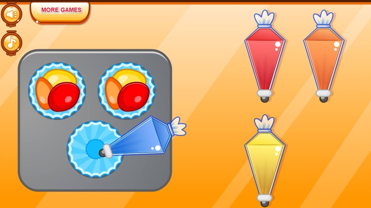Cooking colorful cupcakes game screenshot-8