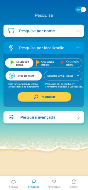 ‎Info Praia Screenshot