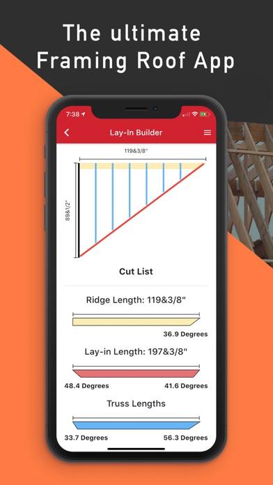 Framing Roof App screenshot 1