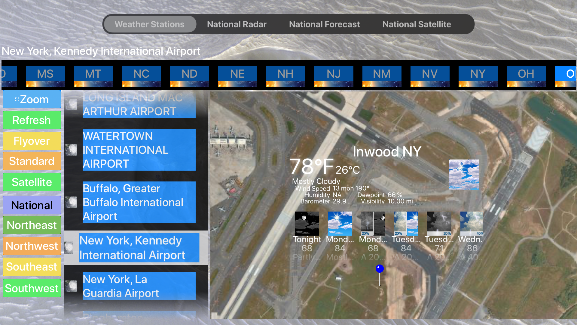 Instant Weather Stations Lite screenshot 25