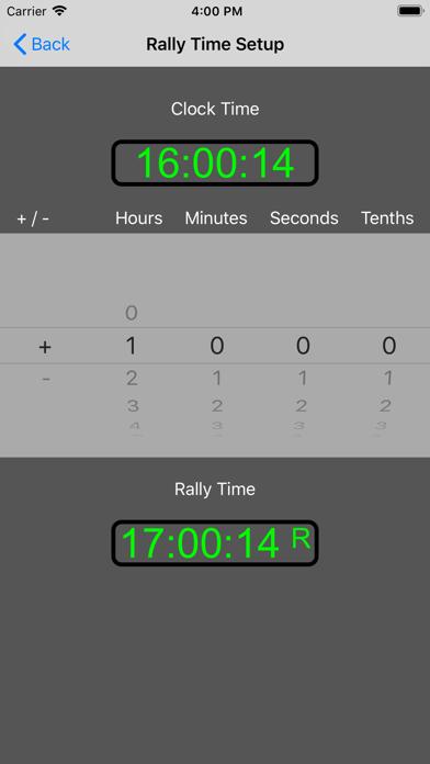 12 Car Rally Timer screenshot 3