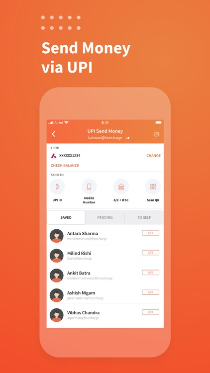Freecharge: Payments & Finance