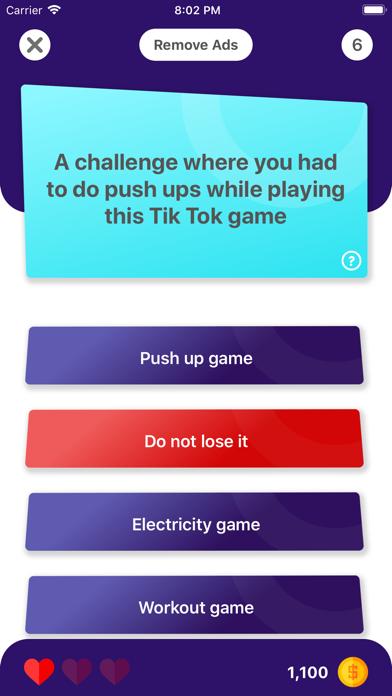 TicWhat - TikQuiz for Fans screenshot 4