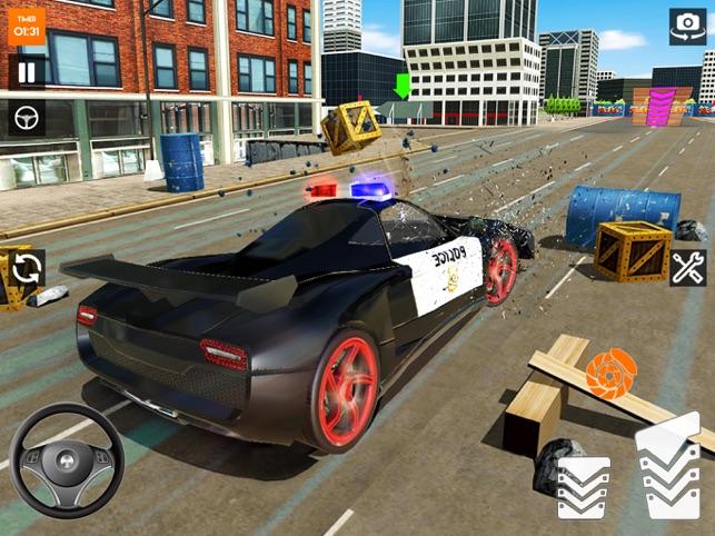 xe cực tai nạn trò chơi3d 2020