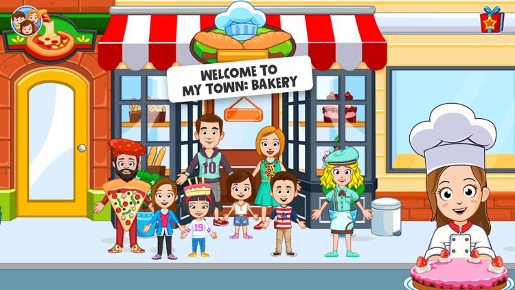 My Town : Bakery screenshot-0