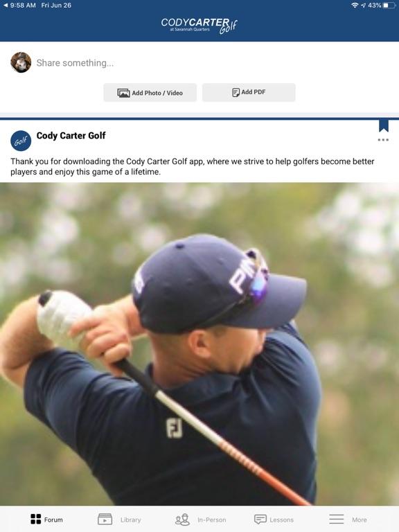 Cody Carter Golf screenshot 5