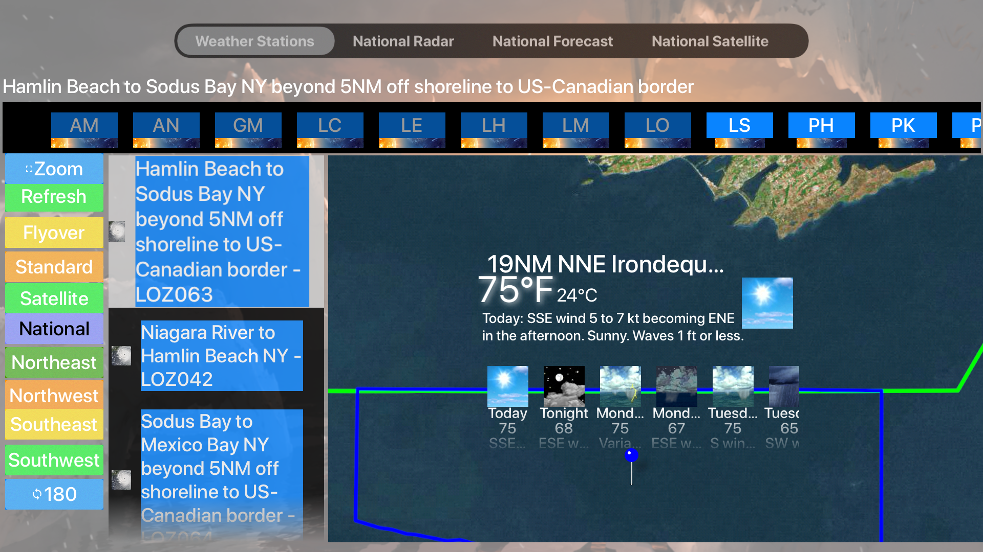 Instant Marine Forecast Pro screenshot 18