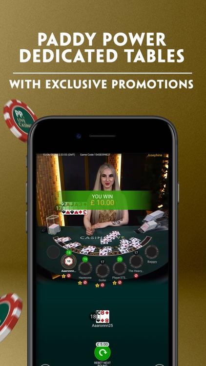 Paddy Power Live Casino screenshot-4