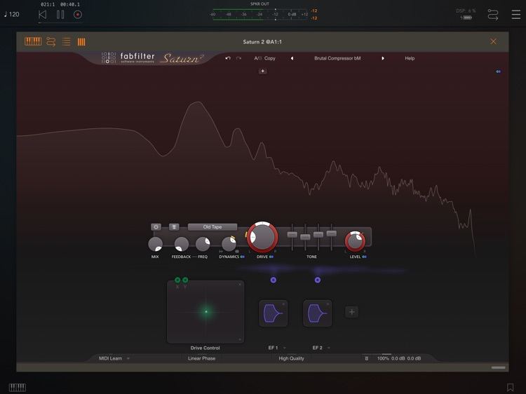 FabFilter Saturn 2 screenshot-1