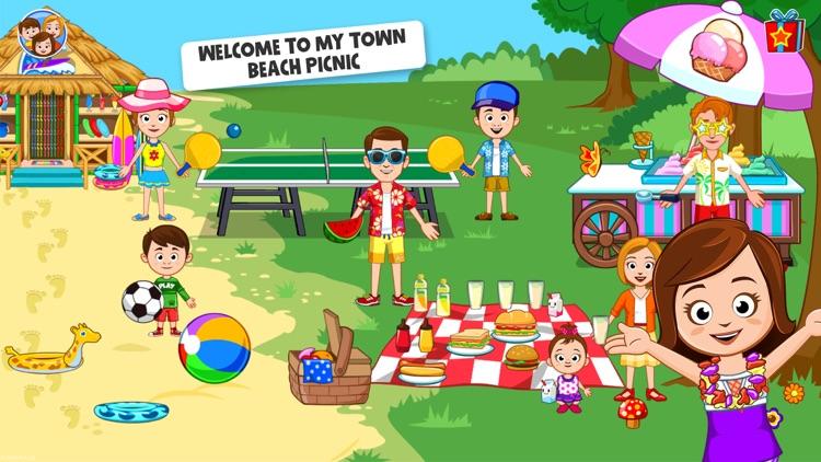 My Town : Beach Picnic screenshot-0