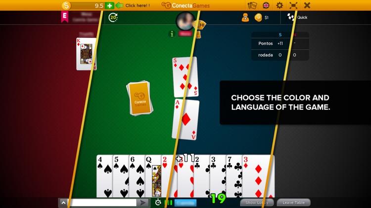 Sueca Multiplayer Game screenshot-4