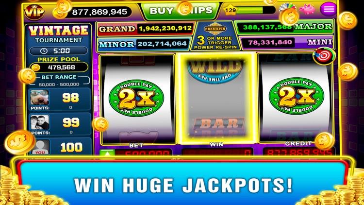 Vintage Slots - Old Las Vegas! screenshot-4