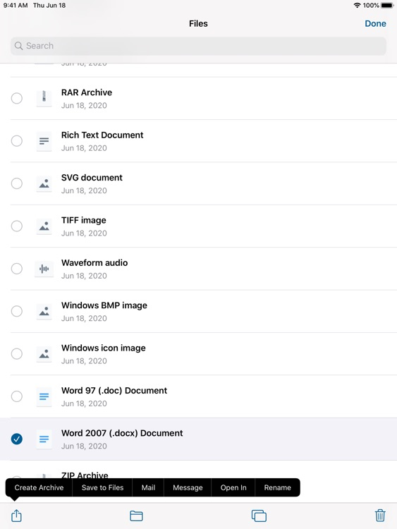 Archiver for iPad screenshot-3
