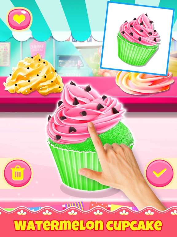 Cupcake Games: Casual Cooking screenshot 5