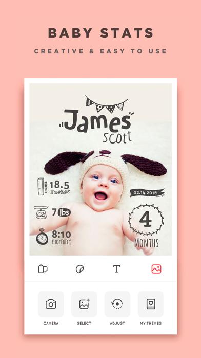 Baby Story - Pics Editor Screenshot