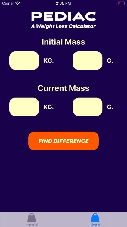 Pediac Weight Calculator screenshot-4