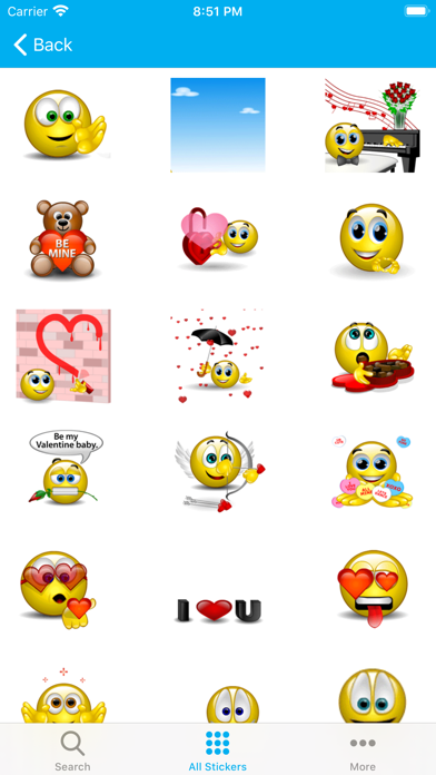 Animated Emoji 3D Sticker GIFs
