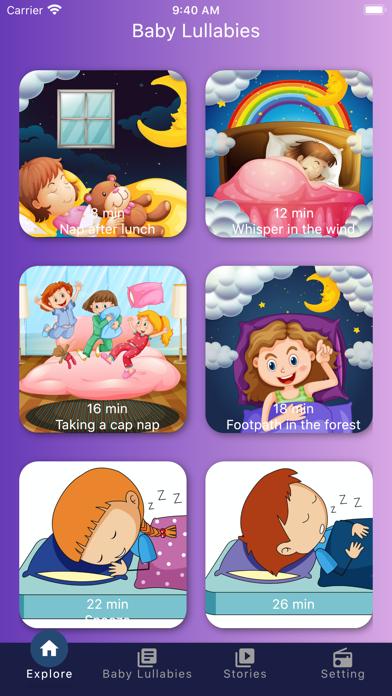 Baby Lullabies Bedtime Musics screenshot 4