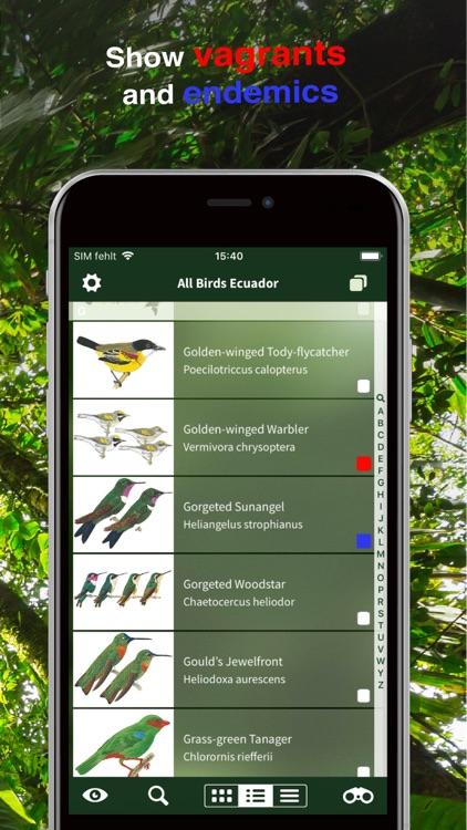 All Birds Ecuador field guide screenshot-4