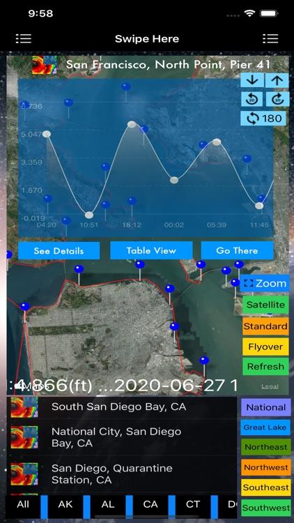 Instant NOAA Tide Lite screenshot-5