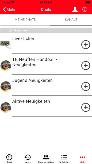 TB Neuffen - HandballScreenshot von 6