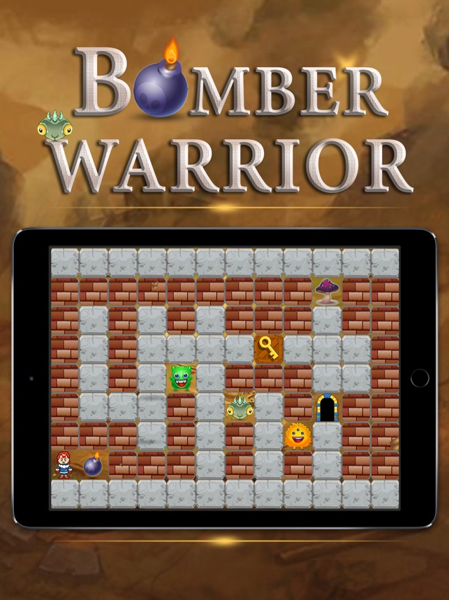 Bomber Warrior, game for IOS