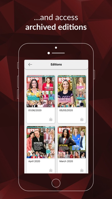 RSVP MagazineScreenshot of 4