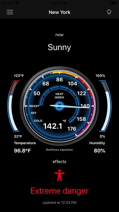 Heat Index - HI screenshot 5