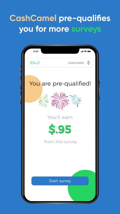 CashCamel - Surveys for Cash