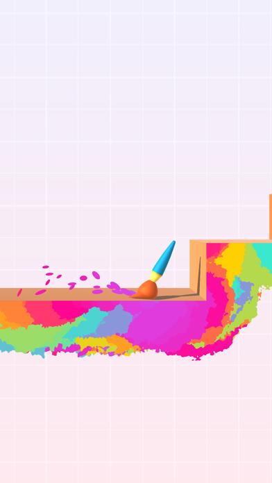 Bouncy Brush screenshot 1